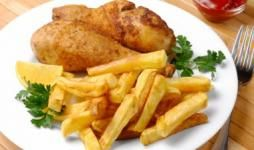 Crochete de pui cu cartofi